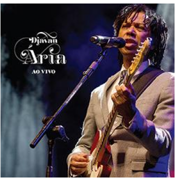 Djavan - ária Ao Vivo (CD)