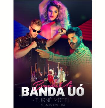 Banda Uó - Turnê Motel - Ao Vivo No Cine Joia (DVD)