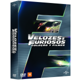 Box Velozes e Furiosos 1 a 7 (DVD) - Paul Walker, Dwayne Johnson