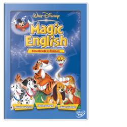DVD - Disney Magic English - Disney Magic English - Descobrindo os Animais ( Vol. 8 ) - 7899307907227