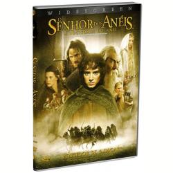 DVD - O Senhor dos Anéis - A Sociedade do Anel - Peter Jackson ( Diretor ) - 7892110040921