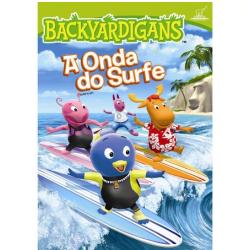 DVD - Backyardigans - A Onda do Surfe - Janice Burgess ( Diretor ) - 7890552060545