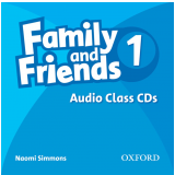 Family And Friends 1 Audio (2 Cds) -