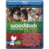 Woodstock - Versão Do Diretor - Edição De Aniversário (Blu-Ray) - Vários (veja lista completa)