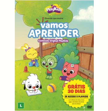 PlayKids - Vamos Aprender (DVD)
