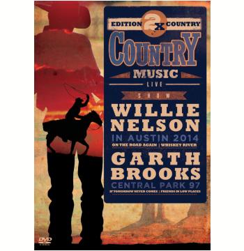 Willie Nelson 2014 e Garth Brooks 97 (DVD)
