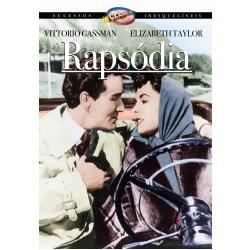DVD - Rapsódia - Elizabeth Taylor, Vittorio Gassman - 7898366211382