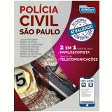 Polícia Civil de São Paulo - PC SP - 2 Em 1 - Equipe Alfacon