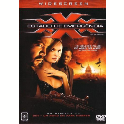 DVD - XXX - Estado de Emergência - Samuel L. Jackson, Ice Cube, Willem Dafoe - 7892770011217