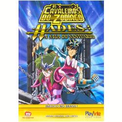 DVD - Cavaleiros do Zodíaco, Os - Hades: A Saga do Santuário - Volume 3 - Shigeyasu Yamauchi ( Diretor ) - 7898023241066