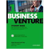 Business Venture 1 Student Book With Cd Practice For Toeic - Third Edition -