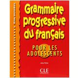 Grammaire Progressive Du Français Pour Les Adolescents Intermediaire  - Livre - Anne Vicher