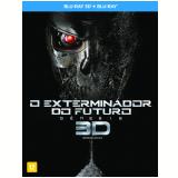 O Exterminador do Futuro: Gênesis (Blu-Ray 3D) +  (Blu-Ray) - Arnold Schwarzenegger, J.K. Simmons, Jason Clarke