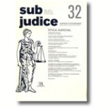 Sub Judice 32 - Ética Judicial -