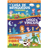 "Box Infantil ""Música Para Sempre"" (DVD) -"