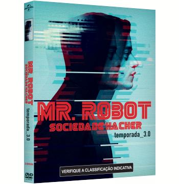 Mr. Robot - Sociedade Hacker - 3ª Temporada (DVD)