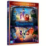 Trollhunters - 1ª Temporada - Vol. 1 (DVD) - Guilhermo Del Toro