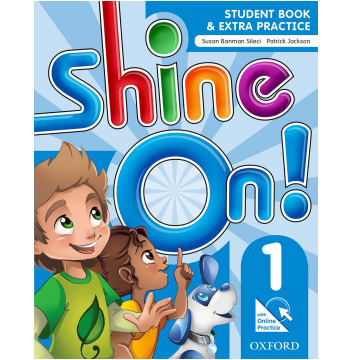 Shine On 1 Student Book With Online Practice Pack