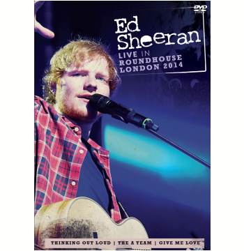 Ed Sheeran - Live In Roundhouse London 2014 (DVD)