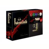Trilogia O Poderoso Chefão - The Coppola Restoration + 100 Fichas de Poker Profissional Personalizada (DVD) - Marlon Brando, Al Pacino