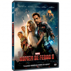 DVD - Homem de Ferro 3 - Shane Black - 7899307919237