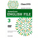 American English File 3 Class Dvd - Second Edition (CD) -