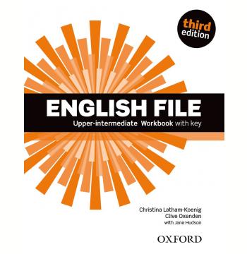 English File Upper-intermediate - Workbook With Key - Third Edition