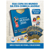 Kit Cartela + Figurinhas Copa do Mundo Fifa 2018 - 12 Envelopes (60 Figurinhas)