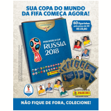 Kit Cartela + Figurinhas Copa do Mundo Fifa 2018