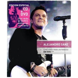 DVD - Alejandro Sanz - Canciones Para Un Paraiso En Vivo - Alejandro Sanz - 825646773220