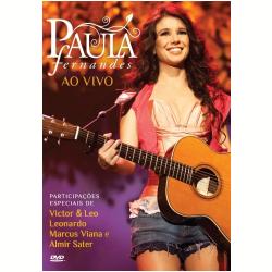 DVD - Paula Fernandes Ao Vivo - Paula Fernandes - 602527579382