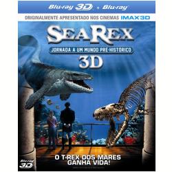 Blu - Ray - Sea Rex - Jornada a Um Mundo Pré - Histórico - 3D - Ronan Chapalain, Pascal Vuong - 7899587908556