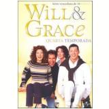 Will & Grace: 4ª Temporada (DVD) - Sean Hayes, Debra Messing