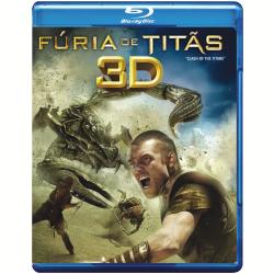 Blu - Ray - Fúria de Titãs 3D - Vários ( veja lista completa ) - 7892110111638