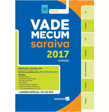 Vade Mecum Tradicional Saraiva 2017