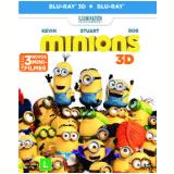 Os Minions + (3D) (Blu-Ray) - Vários (veja lista completa)