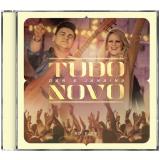 Dan & Janaína - Tudo Novo (CD) - Dan & Janaína
