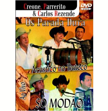 Os Parada Dura - Só Modão - Acústico No Buteco Ao Vivo (DVD)
