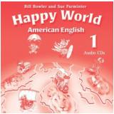 American Happy World 1 Audio (2 Cds) -