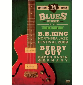 B.b.king E Buddy Guy - 2x Blues Music (DVD)