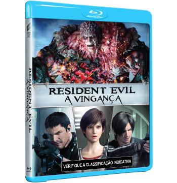 Resident Evil: A Vingança (Animação Japonesa) (Blu-Ray)