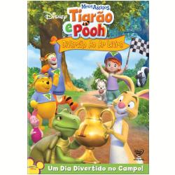 DVD - Meus Amigos Tigrão e Pooh: Diversão ao Ar Livre - Mark Valenti - 7899307915819