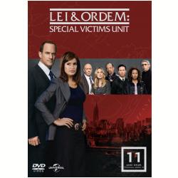 DVD - Lei & Ordem - Special Victims Unit - 11ª Temporada - Vários ( veja lista completa ) - 7899587906095