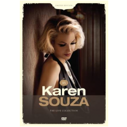 DVD - Karen Souza - The Live Collection - 7798141336906