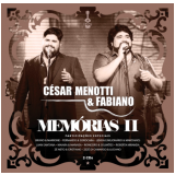 César Menotti & Fabiano - Memórias II (CD) - César Menotti & Fabiano
