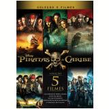 Coleção Piratas do Caribe (Blu-Ray) - Vários (veja lista completa)