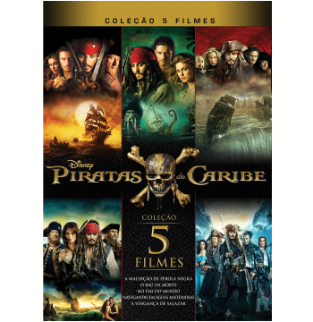 Coleção Piratas do Caribe (Blu-Ray)