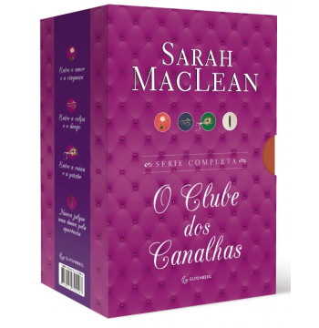 Box - Série O Clube dos Canalhas (4 Vols.)