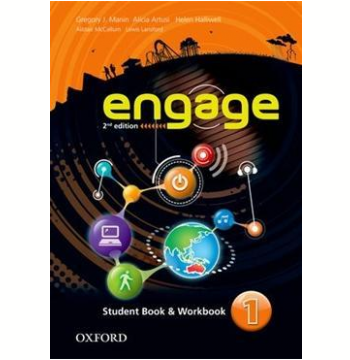 Engage 1 Student Book - Workbook With Multirom - Second Edition
