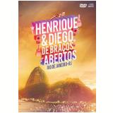 Henrique e Diego - De Braços Abertos Ao Vivo - (DVD) +  (CD) - Henrique e Diego